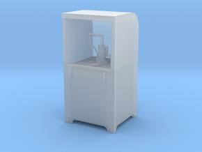 Garage Oil Dispenser Cabinet 1:24 Scale in Smooth Fine Detail Plastic
