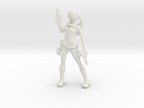 Printle V Femme 391 - 1/18 - wob in White Natural Versatile Plastic