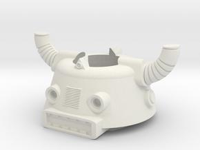 Biotron Phobos Control Helmet in White Natural Versatile Plastic