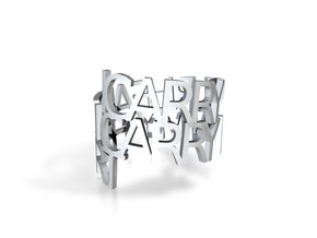icarryourheart ring in White Strong & Flexible