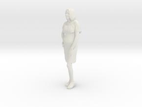 Printle C Femme 350 - 1/18 - wob in White Natural Versatile Plastic
