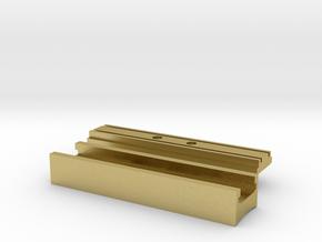 Starkiller Control Box(Long) in Natural Brass