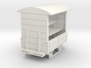 a-43-165-gr-turner-covered-wagon in White Natural Versatile Plastic
