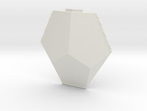 Asp starship in White Natural Versatile Plastic