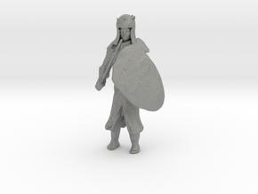 20mm Templar Knight in Gray Professional Plastic