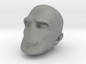 Morph One:12 Head #4 in Gray Professional Plastic: 1:12