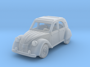 Citroen 2 CV 1:160 N in Smooth Fine Detail Plastic