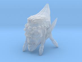 Interplanar villian head open mouth 1 in Smooth Fine Detail Plastic