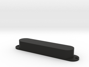 Fender Stringmaster steel guitar pickup cover in Black Natural Versatile Plastic: Medium