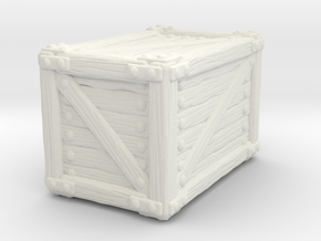 Big Crate A in White Natural Versatile Plastic