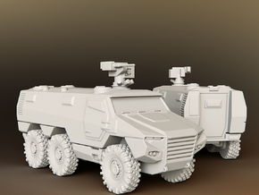 Nexter Griffon VBMR 6x6 Armoured Multi role vehicl in Smooth Fine Detail Plastic