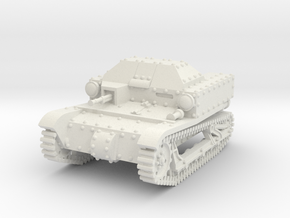 T27a Tankette (28mm/1:56) in White Natural Versatile Plastic
