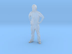 Printle C Homme 1642 - 1/72 - wob in Smooth Fine Detail Plastic