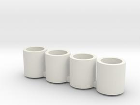 28L26Rim in White Natural Versatile Plastic
