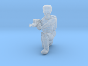 Alien Trooper (28mm Scale Miniature) in Smooth Fine Detail Plastic