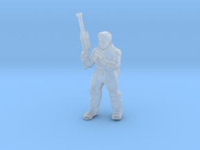 Cyber Commando Miniature (28mm Scale) in Smooth Fine Detail Plastic