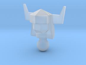 Galactic Defender Acroyear II Head in Smooth Fine Detail Plastic
