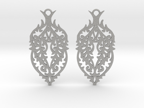 Thorn earrings in Aluminum: Small