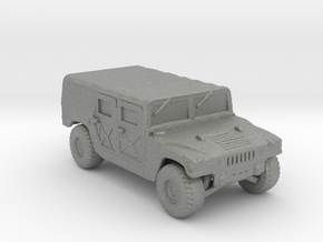 M998a1 Troop-Cargo 160 scale in Gray Professional Plastic