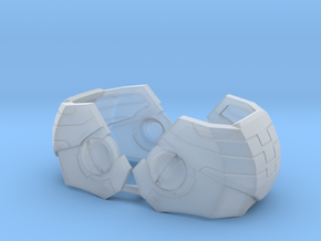 Stormwave - Shoulder plates in Smooth Fine Detail Plastic