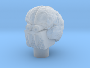 Aloros Head in Smooth Fine Detail Plastic