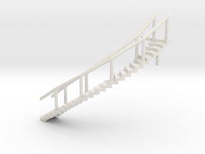 Spherical Ladder - part 2 Chemical Tank N 160:1 Sc in White Natural Versatile Plastic