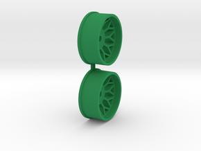 Offset-3,0-front-BBS-Rims-MiniZ-AWD in Green Processed Versatile Plastic