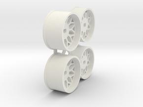 Offset-0,0-Rims-BBS-MiniZ-AWD in White Natural Versatile Plastic