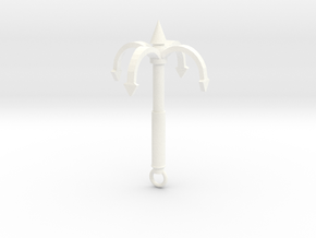 Grappling Hook 4 Prong in White Processed Versatile Plastic