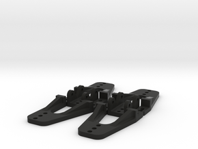 MST CFX and CMX Shock Tower Set in Black Natural Versatile Plastic