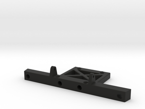 CFX CMX Rear Bumper in Black Natural Versatile Plastic