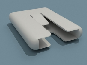 Wallet Pod 1.0 (version 2.0 on it's way!) in White Natural Versatile Plastic: Medium