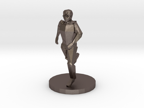 Special Forces Night Operator (28mm Scale) in Polished Bronzed-Silver Steel