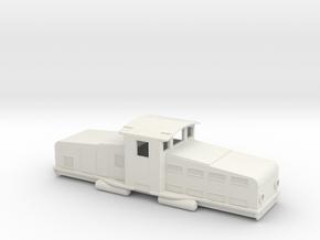 Swedish SJ accumulator locomotive type Öc - H0-sca in White Natural Versatile Plastic