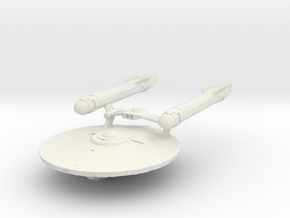 "Ranger Class IV Cruiser  3.5"" long in White Natural Versatile Plastic"