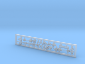 Naval Weapons Set 1 (FUD) in Smooth Fine Detail Plastic: 1:700