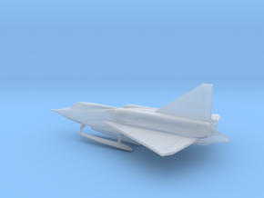 Convair XF2Y Sea Dart in Smooth Fine Detail Plastic: 6mm