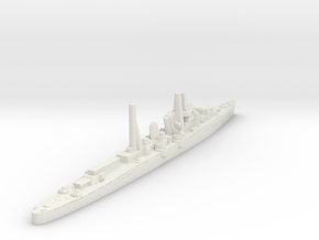 Aoba Class heavy Cruiser (Japan) in White Natural Versatile Plastic