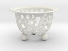 Neo Pot Swiss 2.5in.  in White Natural Versatile Plastic