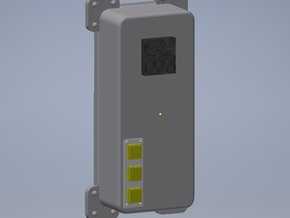 Delorean eaglemoss High Voltage Box in Smooth Fine Detail Plastic