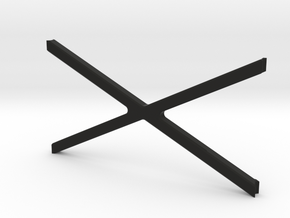 ZRD Rear Upper X Brace in Black Natural Versatile Plastic