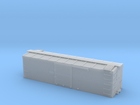 D&RGW 30ft Box Car, Body, Hon3 in Smoothest Fine Detail Plastic