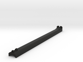 Nelson sight rail 8.5in in Black Natural Versatile Plastic