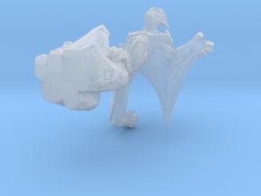 Gargoyle - unit 2 - Miniature 28/30mm Scale in Smoothest Fine Detail Plastic