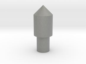 123 block peg 1 in Gray Professional Plastic
