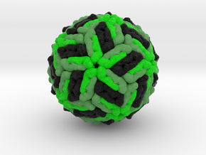 Dengue Virus in Natural Full Color Sandstone
