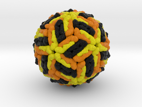 Dengue Virus in Natural Full Color Sandstone