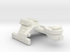 3125 Scale Klingon E3 Escort WEM in White Natural Versatile Plastic