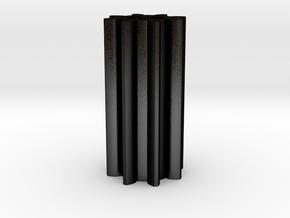 Zahnrad Trittstufe Wohnmobil Ahorn Wellendurchmess in Matte Black Steel