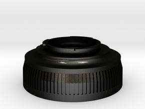 Zenza Bronica ETR To Pentax K-mount in Matte Black Steel